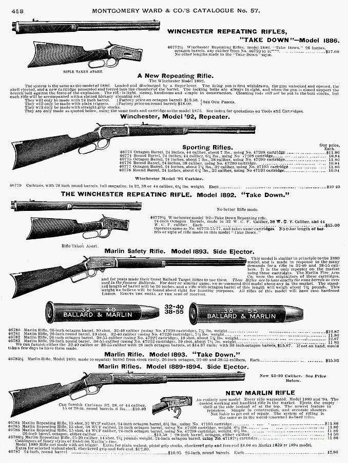 Winchester Rifles Photograph
