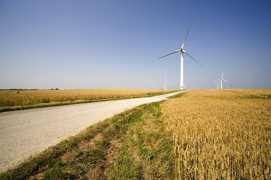 Wind Turbine, Humberside, England Photograph