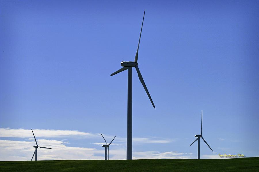 Windy Power Photograph