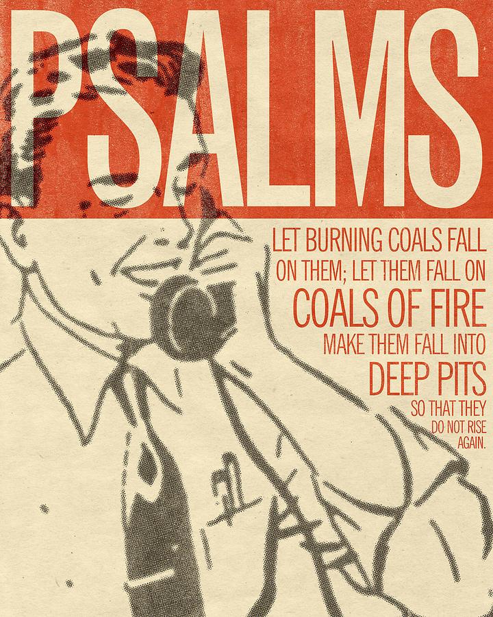 Word Psalms 2 Digital Art