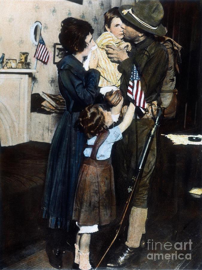 World War I: Deployment Photograph