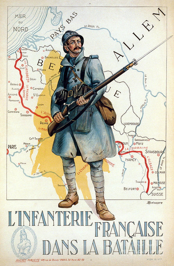 World War I: French Poster Photograph  - World War I: French Poster Fine Art Print