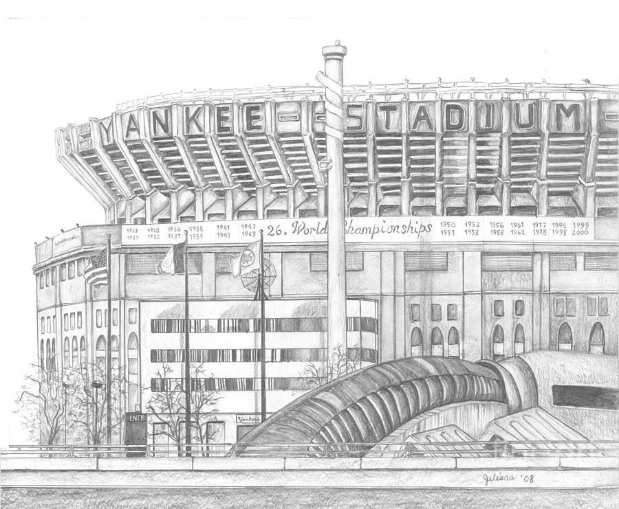 Yankee Stadium Drawing