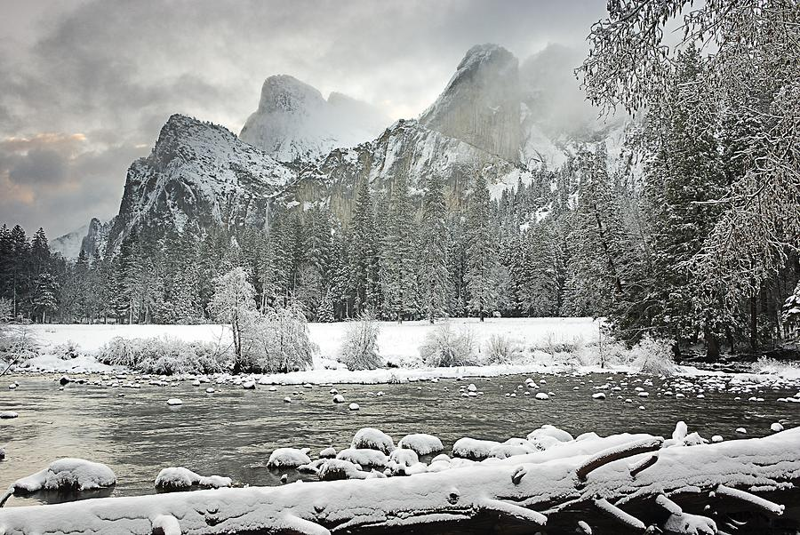 Yosemite National Park, California, Usa Photograph