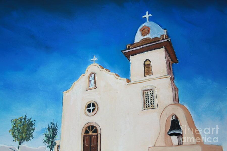 Ysleta Mission Painting