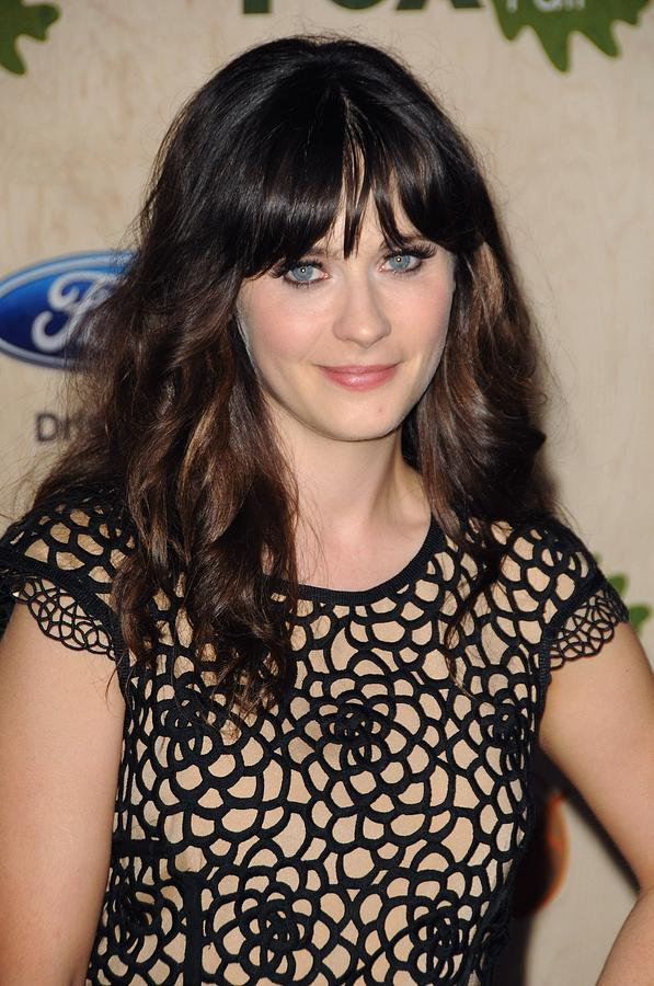 Zooey Deschanel At Arrivals For Fox Photograph