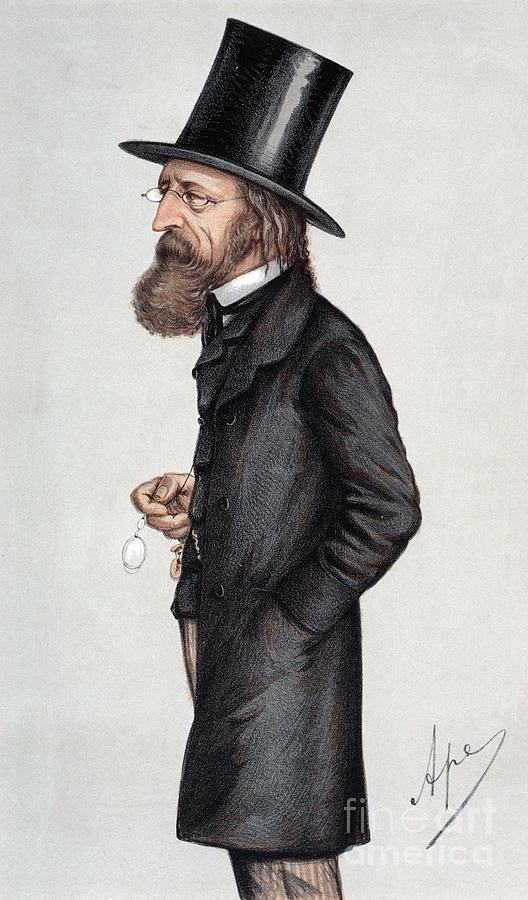 Alfred Tennyson (1809-1892) Photograph