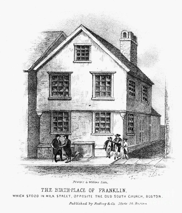 Benjamin Franklin Photograph
