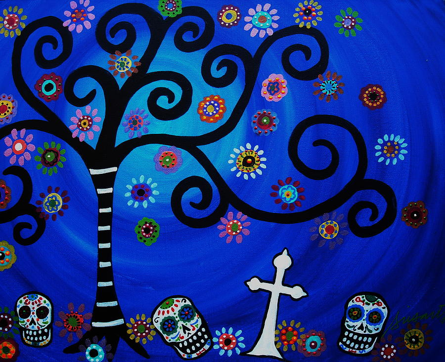 Day Of The Dead Painting  - Day Of The Dead Fine Art Print