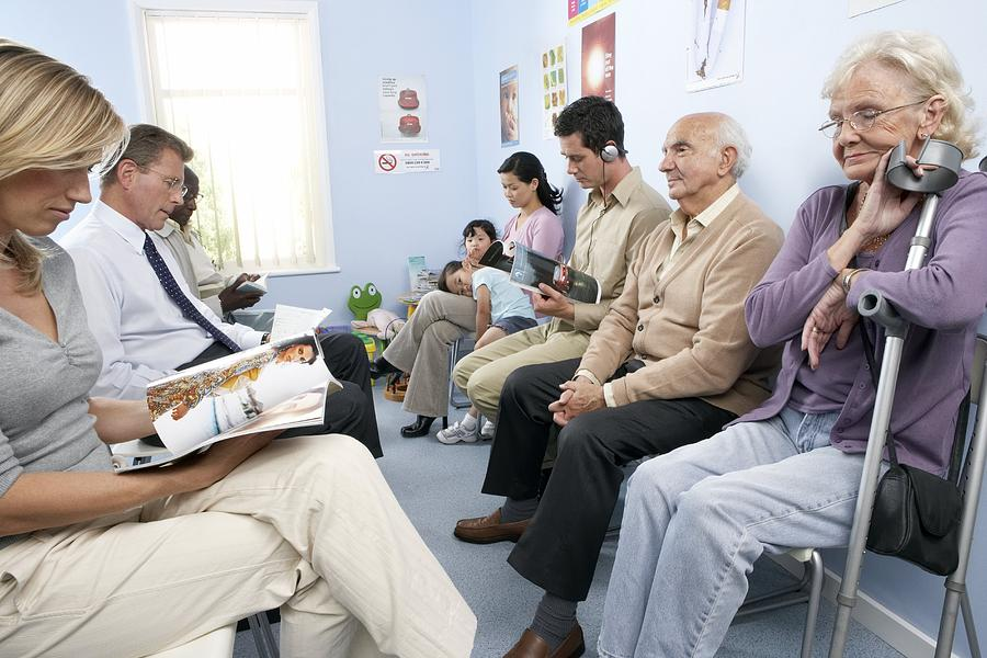 General Practice Waiting Room Photograph