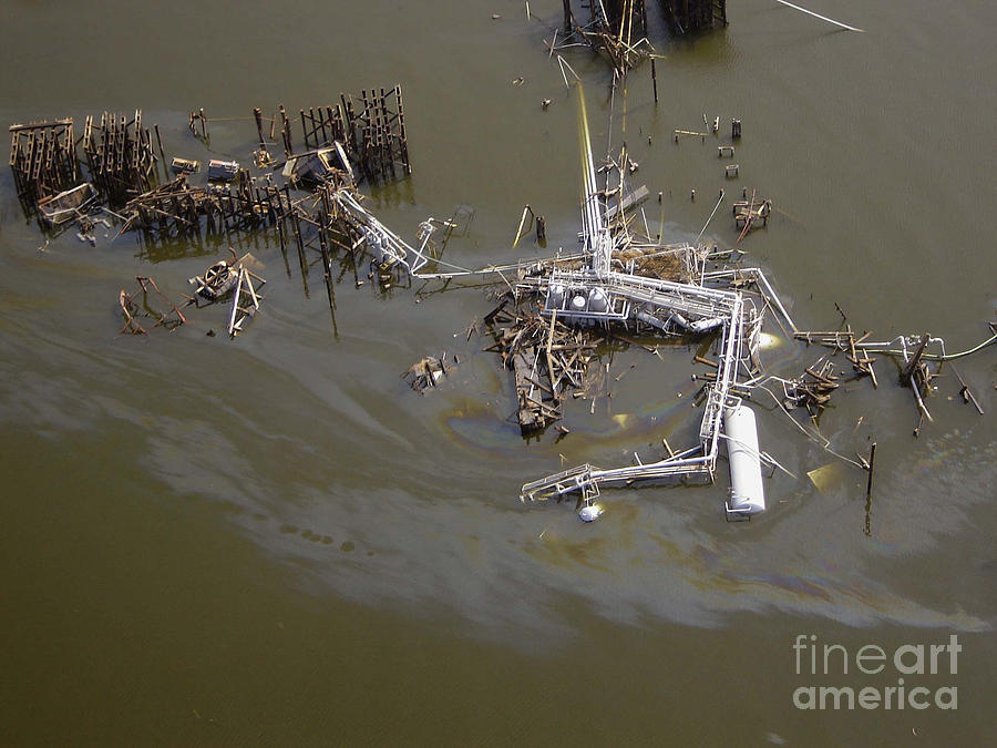 Hurricane Katrina Damage Photograph