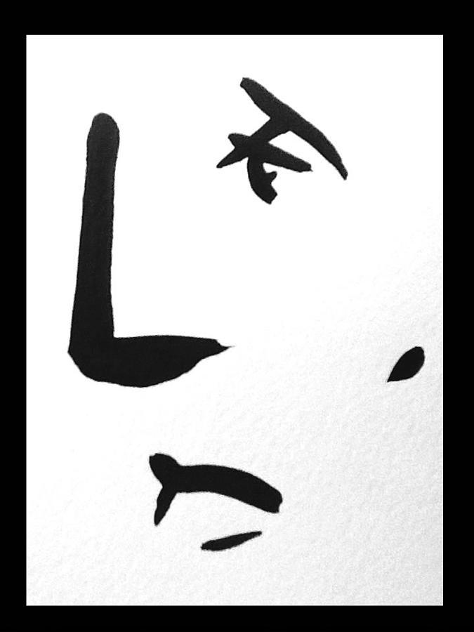 Face Painting - 10 Lines by Bert Eelen