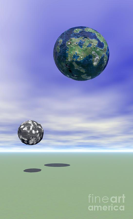 Planets Digital Art