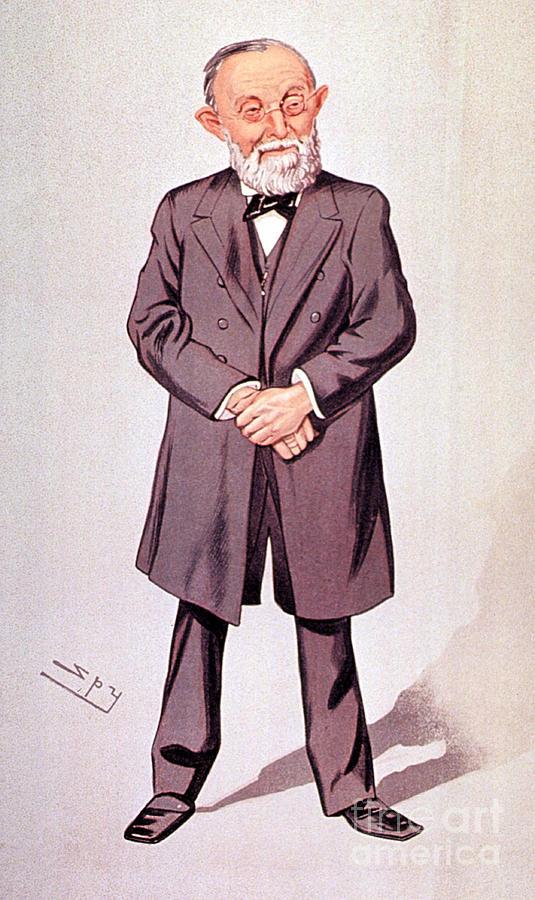 Rudolph Virchow, German Polymath Photograph