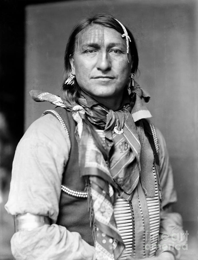 Sioux Native American, C1900 Photograph