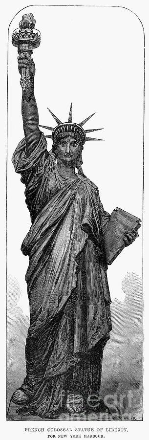 Statue Of Liberty Photograph