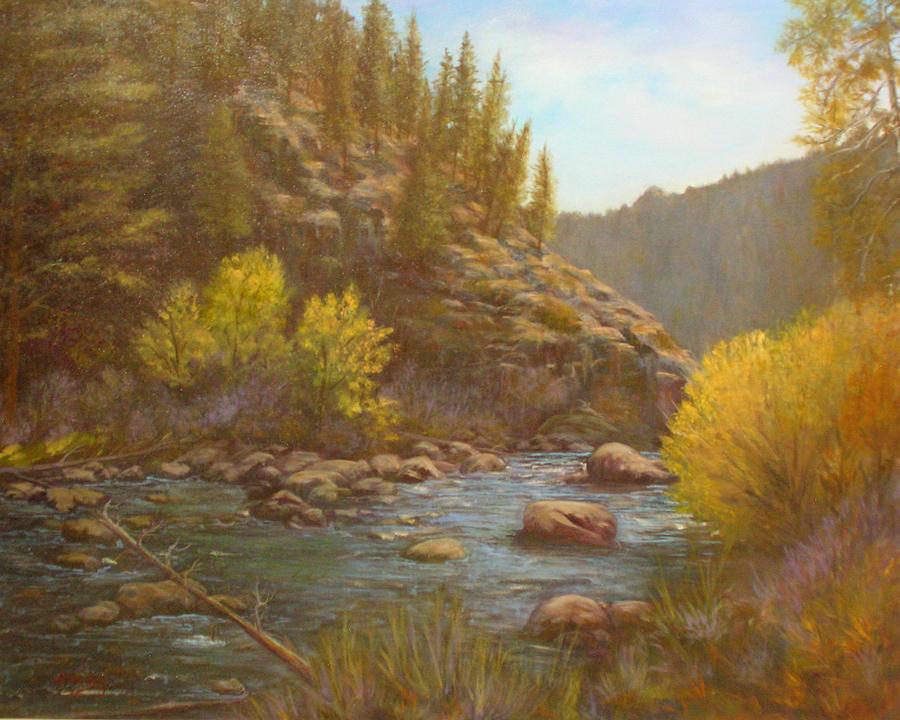 100714 2430 Serenity Painting