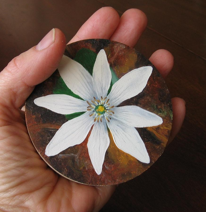108 Bloodroot Painting