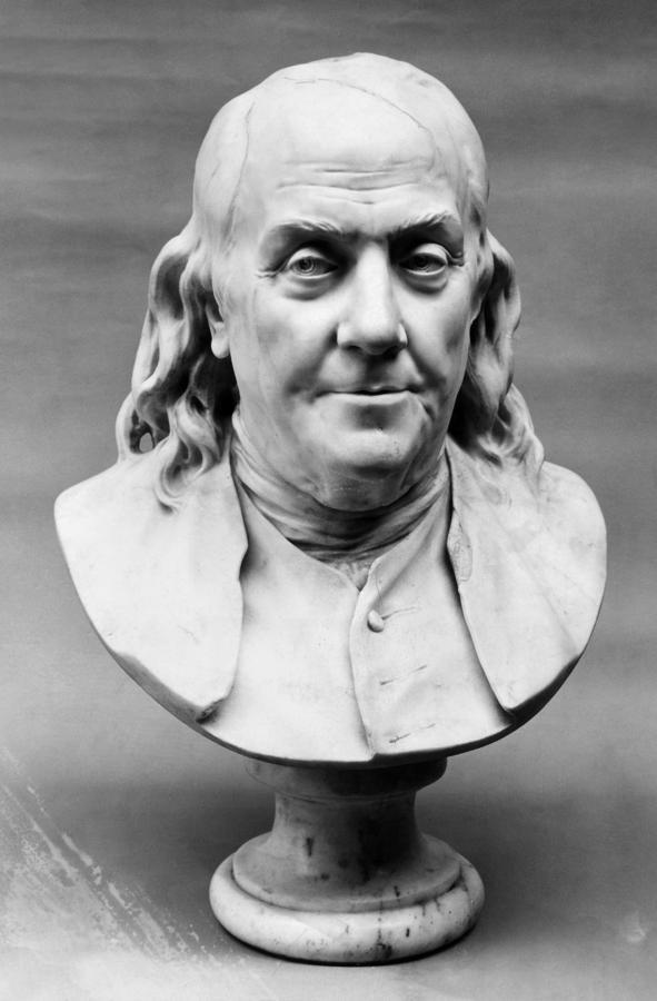 Benjamin Franklin (1706-1790) Photograph