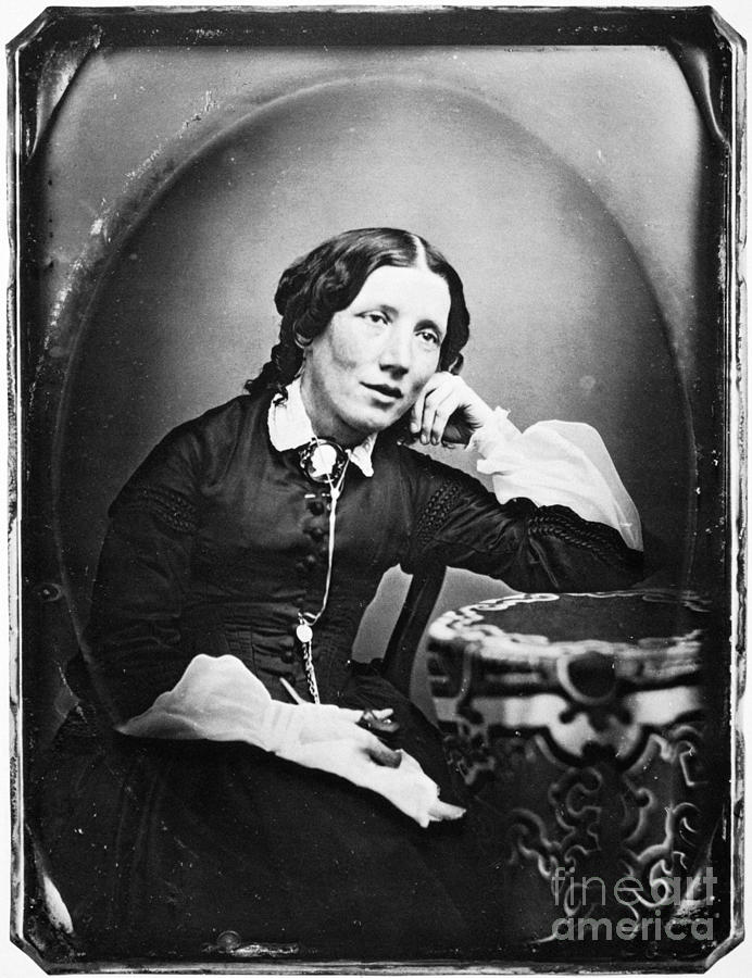 Harriet Beecher Stowe Photograph  - Harriet Beecher Stowe Fine Art Print