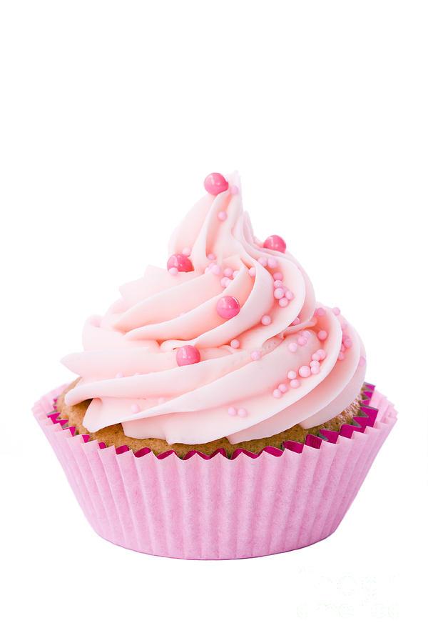 Pink Cupcake by Ruth Black