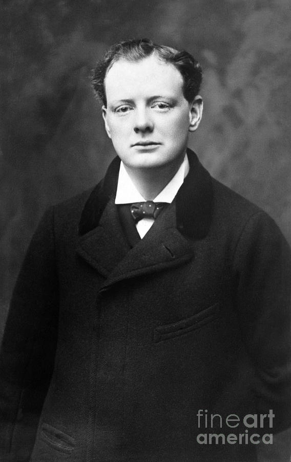 Winston Churchill Photograph