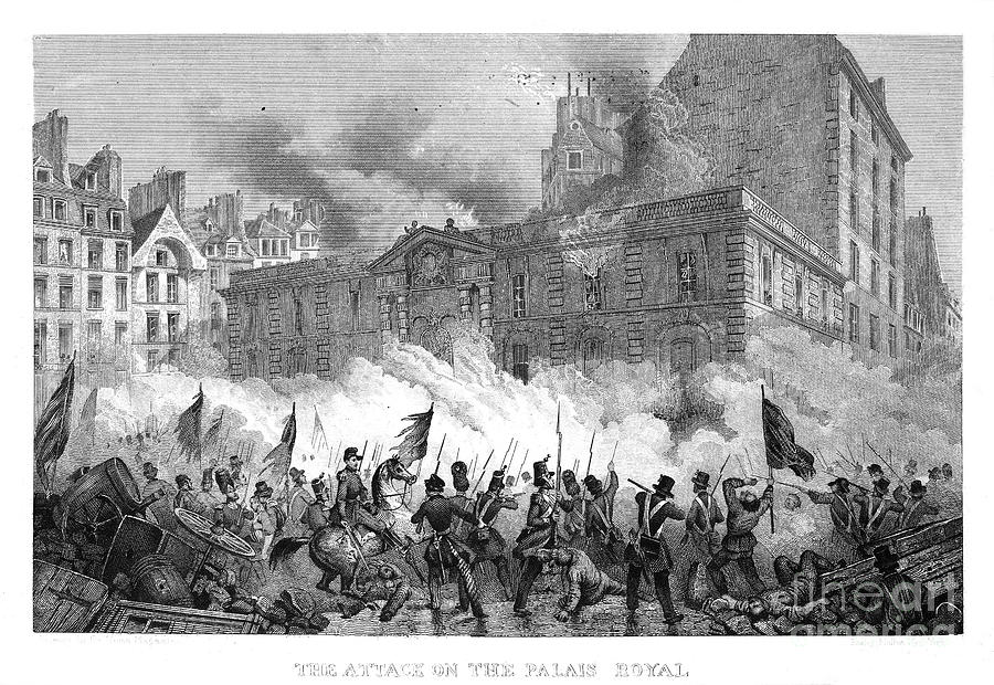 France: Revolution Of 1848 Photograph