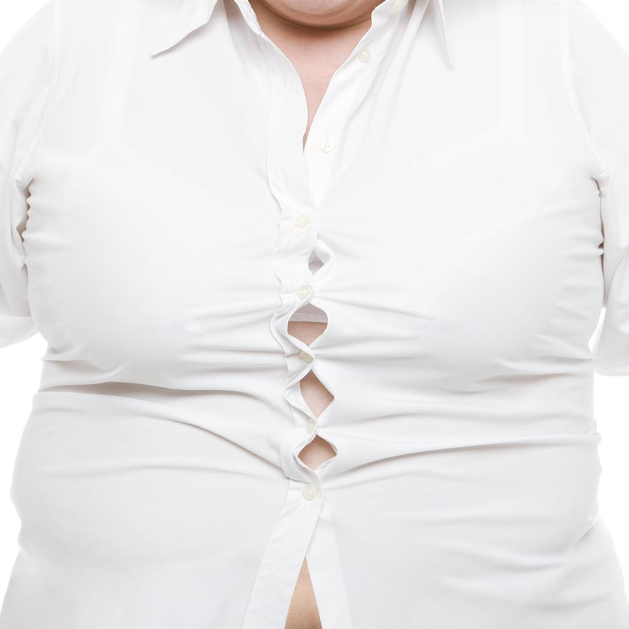 Overweight Woman Photograph