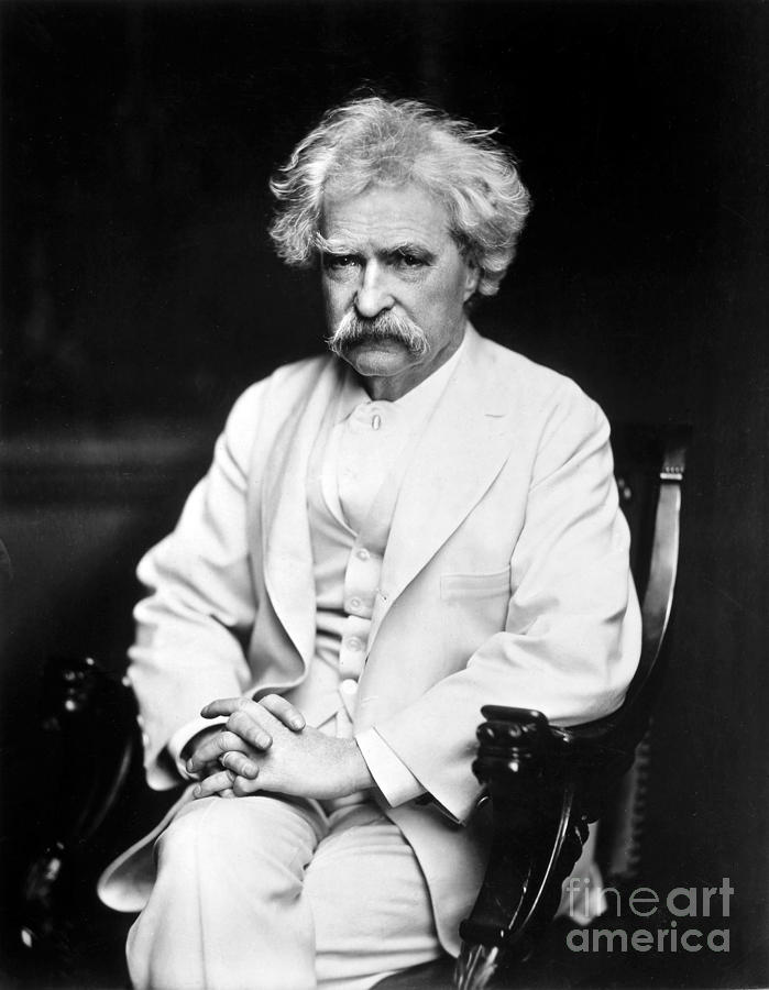 Samuel Langhorne Clemens Photograph