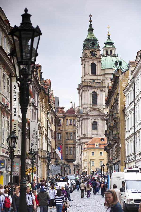 Streets Of Prague Photograph  - Streets Of Prague Fine Art Print