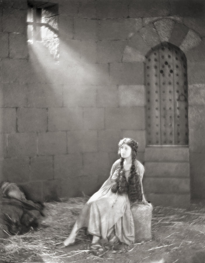 Silent Film Still: Woman Photograph  - Silent Film Still: Woman Fine Art Print