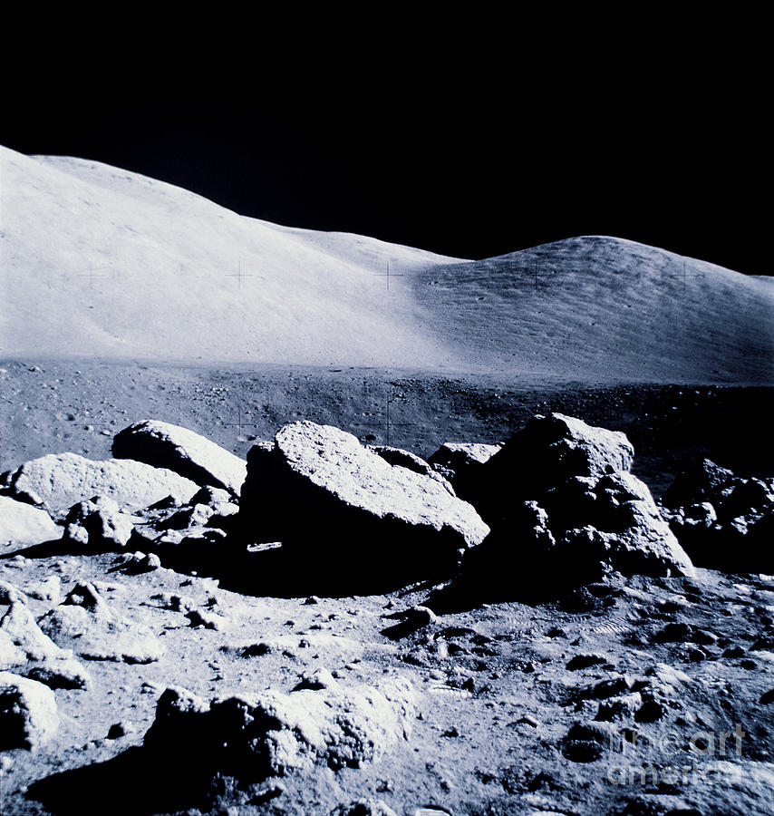Apollo Mission 17 Photograph