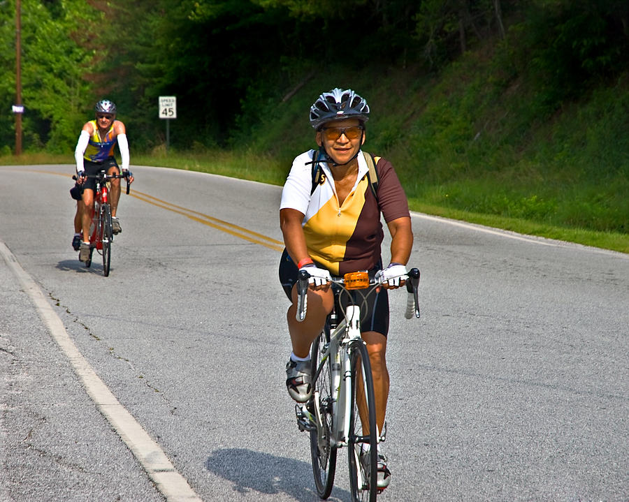 Bicycle Ride Across Georgia Photograph