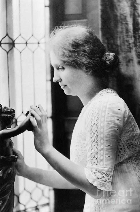 1912 Photograph - Helen Adams Keller by Granger