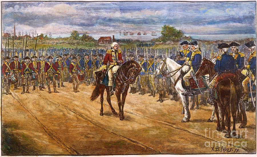Yorktown: Surrender, 1781 Photograph