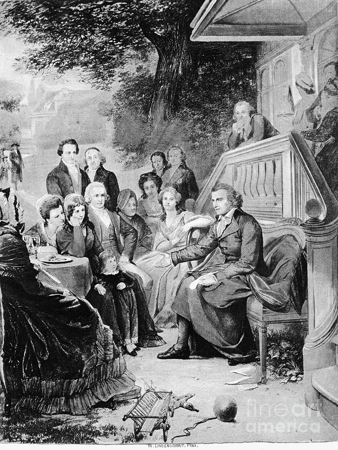 18th Century Photograph - Friedrich Schiller by Granger