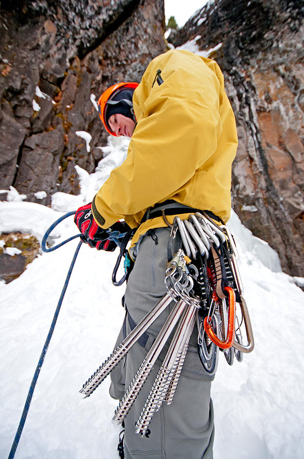 Ice Climber Photograph