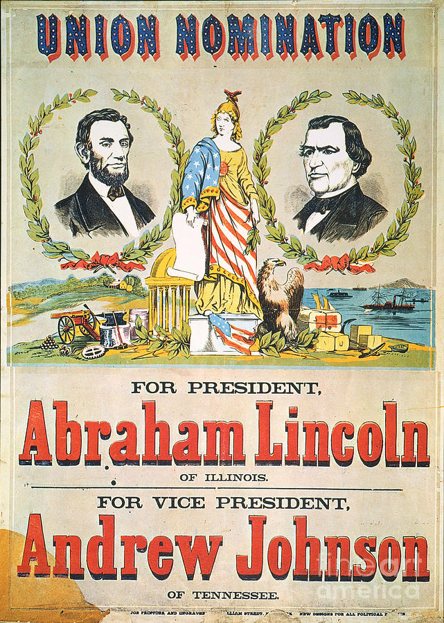 Presidential Campaign, 1864 Photograph