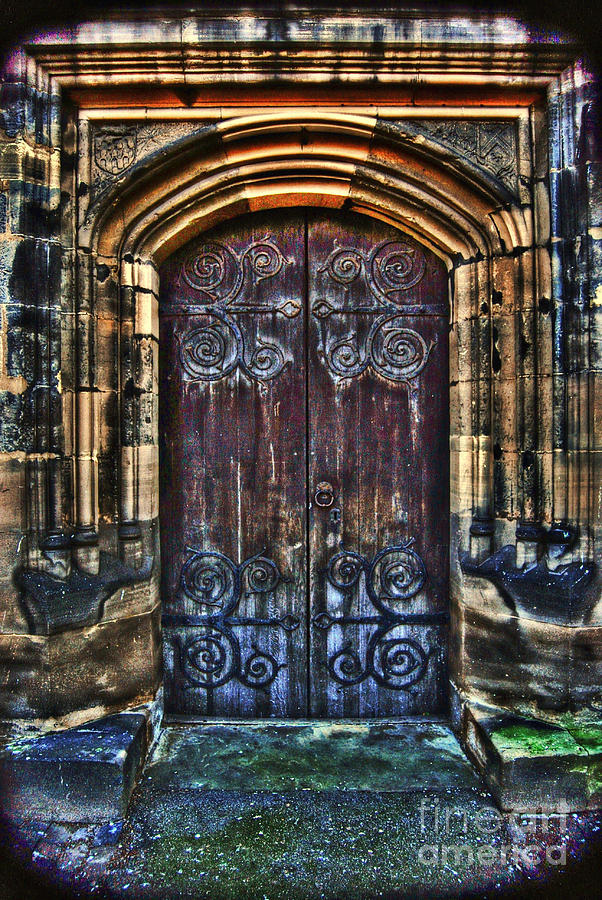 14th Century Door Photograph
