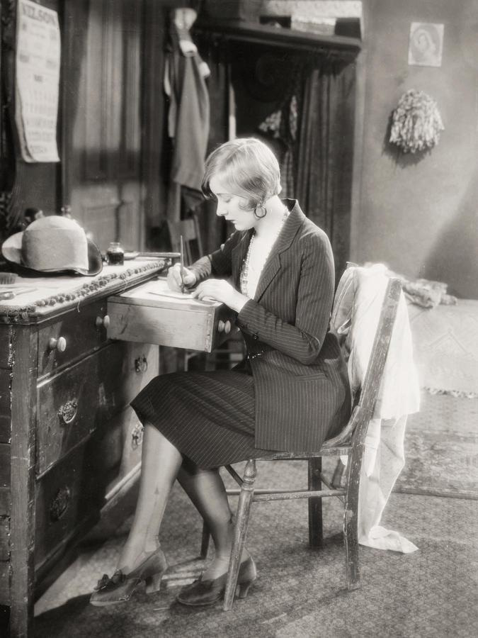 Silent Film Still: Woman Photograph