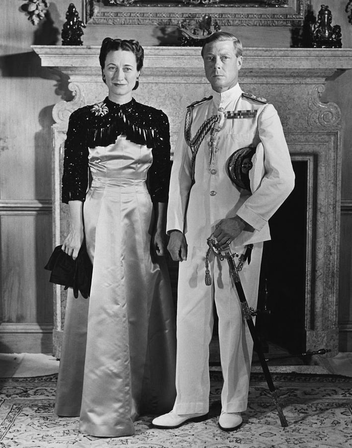 Duchess Of Windsor Wallis Simpson Photograph  - Duchess Of Windsor Wallis Simpson Fine Art Print