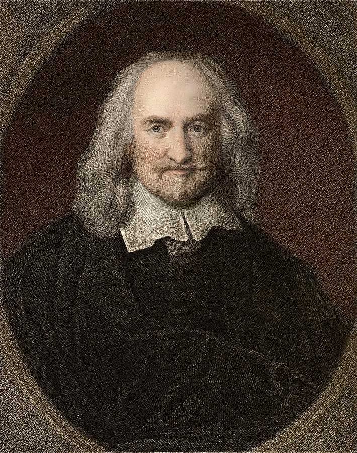 Atheist Photograph - 1660 Thomas Hobbes English Philosopher by Paul D Stewart