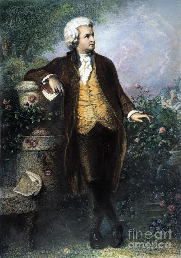 Wolfgang Amadeus Mozart Painting Others Wolfgang Amadeus