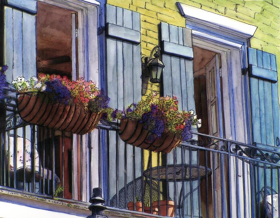 177 french quarter balcony by john boles for French quarter balcony