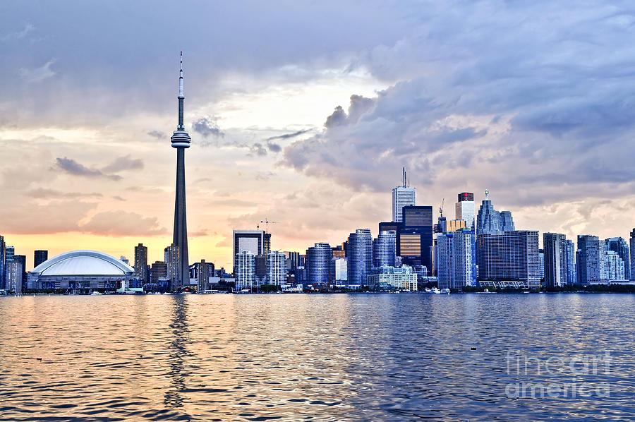 Toronto Skyline Photograph