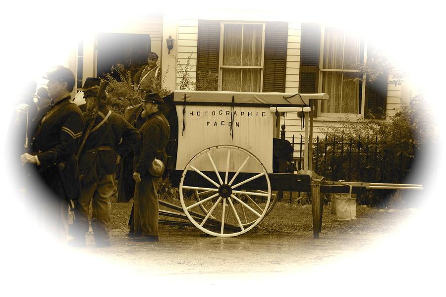 1863 Cival War Camera Photograph