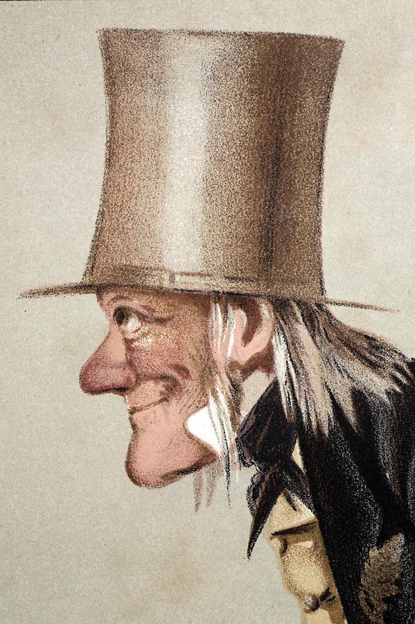 1873 Richard Owen Vanity Fair Cu Portrait Photograph