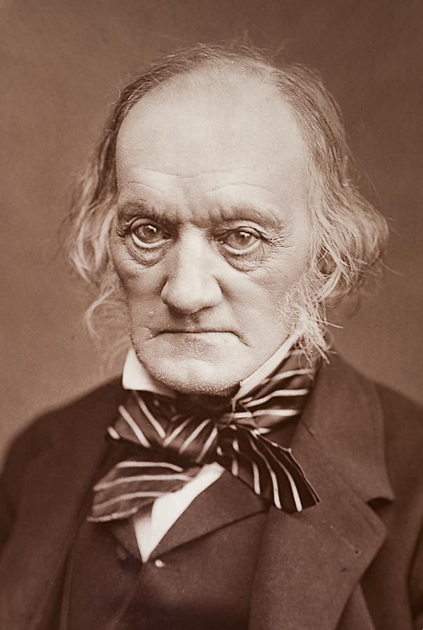 Anatomist Photograph - 1878 Sir Richard Owen Photograph Portrait by Paul D Stewart
