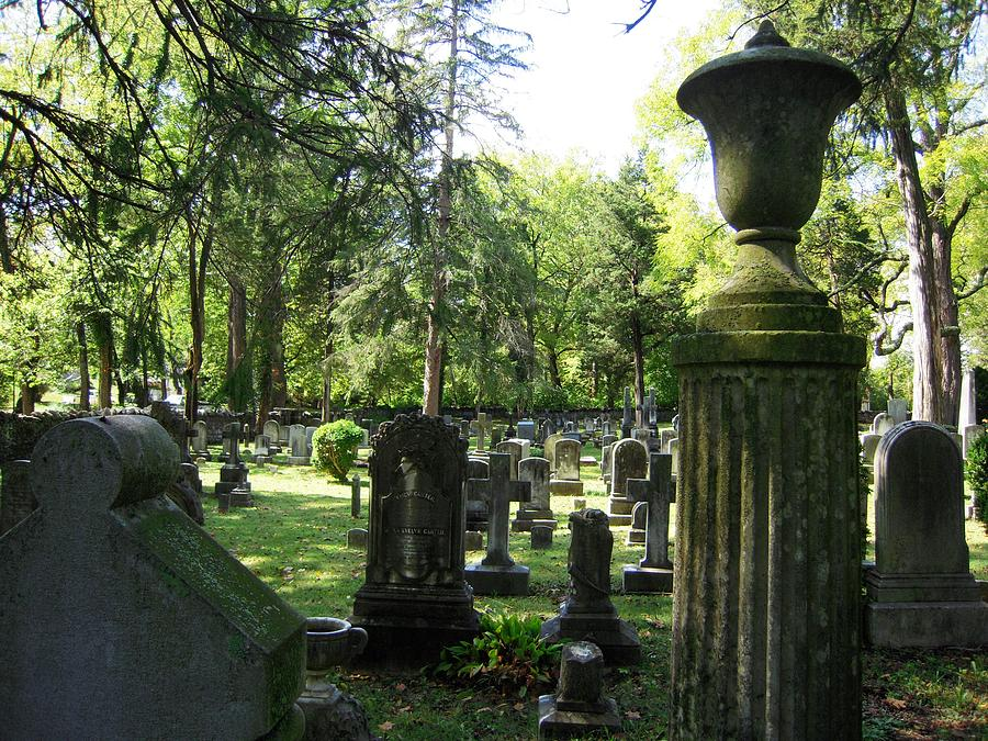 18th Century Cemetery In Virginia Photograph