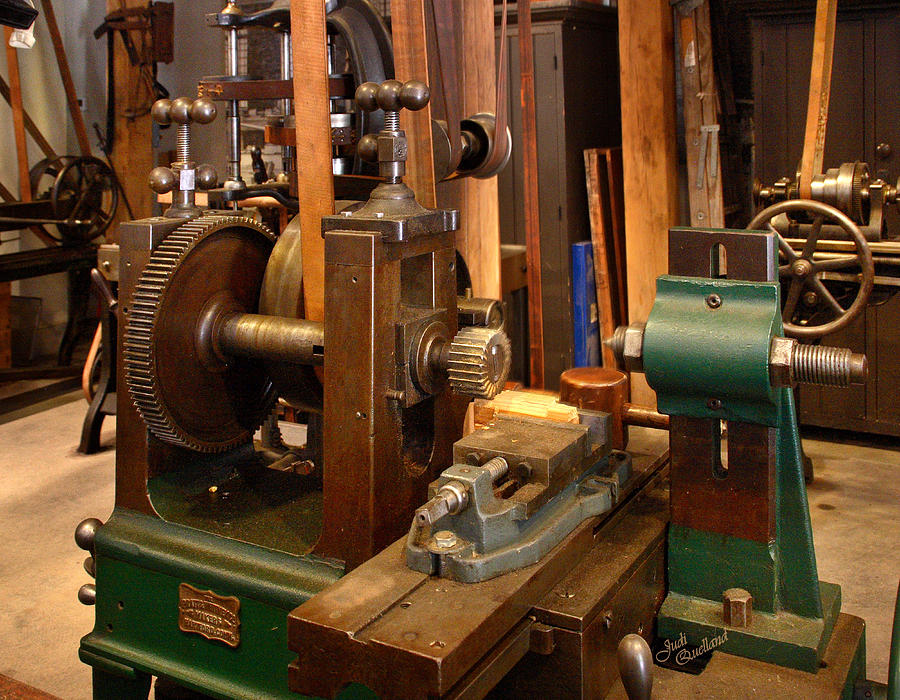 18th Century Machine Shop Photograph